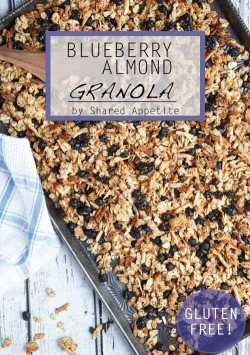 Blueberry Almond Granola with Chia