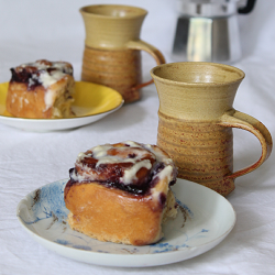 Blueberry Buttermilk Rolls