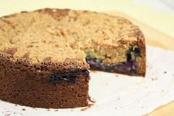 Blueberry-Streusel Coffee Cake