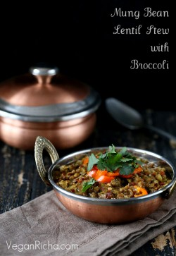 Broccoli Dal – Lentil stew
