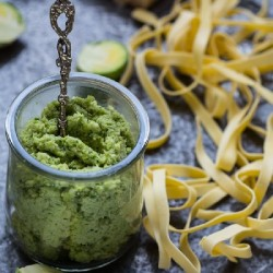 Brussel Sprout Pesto
