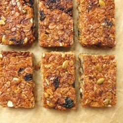 Chewy Coconut Honey Granola Bars