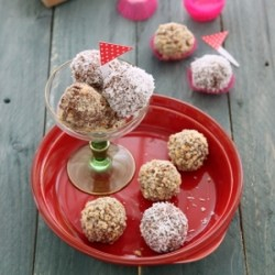 Chocolate and Hazelnut Laddoo