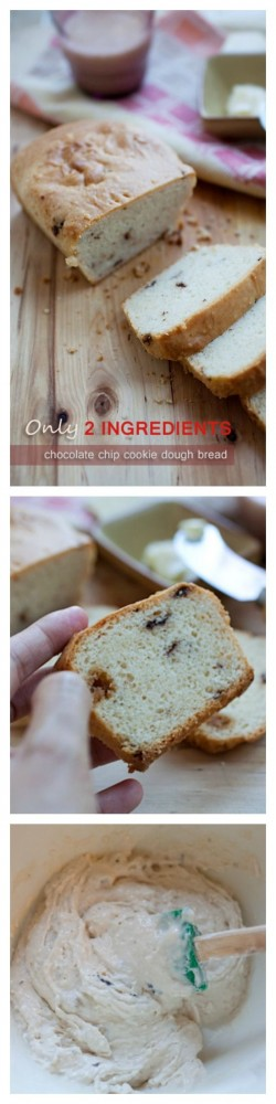 Chocolate Chip Cookies Dough Bread Recipe