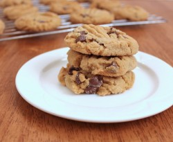 Chocolate Chip Peanut Butter Cookies Recipe