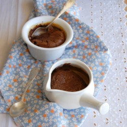 Chocolate Dulce de Leche Pudding
