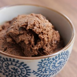 Chocolate Goat's Milk Ice Cream