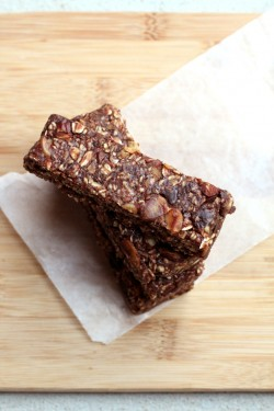 Chocolate Granola Bars No Bake Recipe