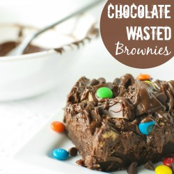 Chocolate Wasted Brownies