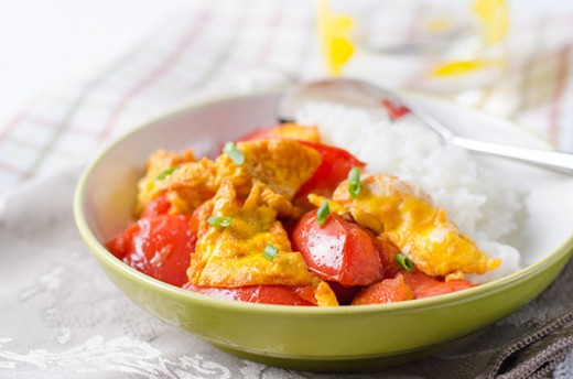 Classic Tomato and Egg Stir-Fry