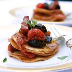 Croxetti with Tomatoes