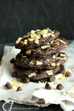 Double Chocolate Potato Chip Cookie