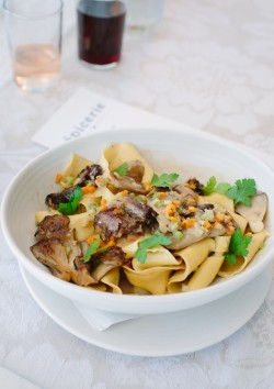 Fall Oxtail Pappardelle