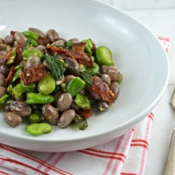 Fava and Cranberry Beans