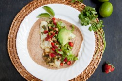Fish Tacos with Strawberry Cucumber Salsa Recipe