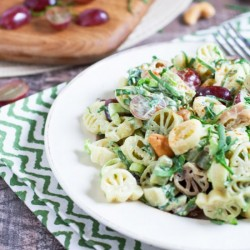 Florentine Pasta Salad with Grapes