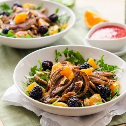Fruits and Balsamic Salad Recipe