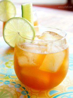 Ginger Lime Pimms