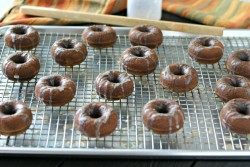 Grain Free Gingerbread Doughnuts