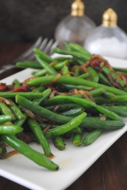 Green Beans and Pancetta