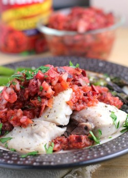 Grilled Mahi Mahi with Cherry Salsa