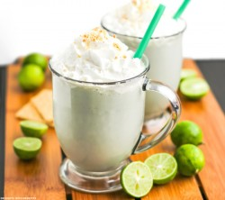 Guilt-Free Key Lime Pie Milkshake