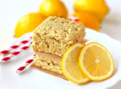 Healthy Lemon Blondies Recipe