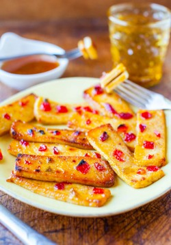 Hot Sour Broiled Tofu Recipe