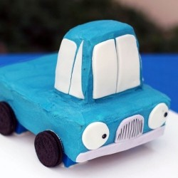 How to Make a Truck Birthday Cake