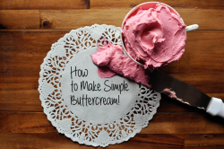 How to Make Simple Buttercream