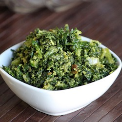 Kale Cooked Salad