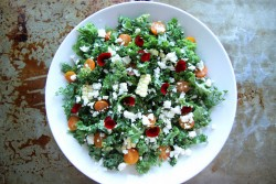 Kale Corn and Feta Salad Recipe