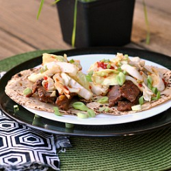 Korean-Style Beef Tacos Recipe