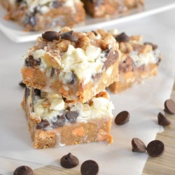 7 Layer Bars with Gingerbread Crust