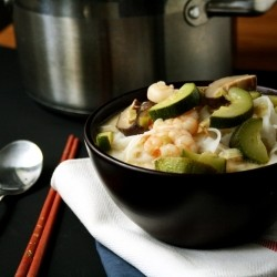 Lemongrass-Coconut Soup with Shrimp
