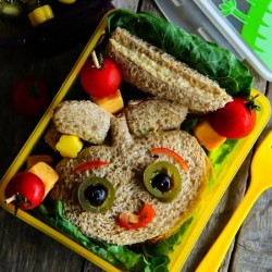 Lunch Box: Chicken Salad Sandwich