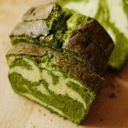 Matcha Pound Cake recipe