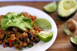 Mexican Refried Rice with a Twist