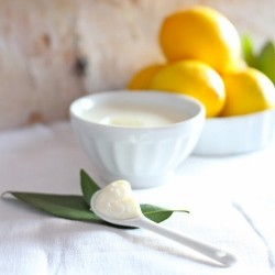 Meyer Lemon and Bay Posset