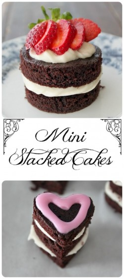Mini Stacked Cakes