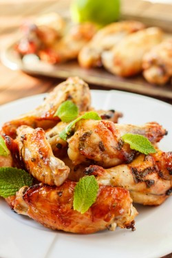 Mojito Chicken Wings