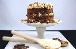 Old Fashioned German Chocolate Cake