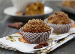 Orange Spice Pumpkin Muffins