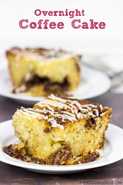 Overnight Coffee Cake