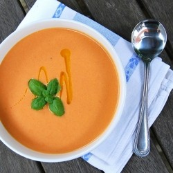 Peach Tomato Soup Recipe