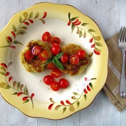 Pesto Potato Cakes