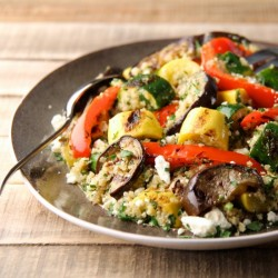 Quinoa and Grilled Vegetable Salad