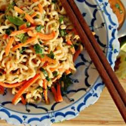 Ramen Noodles with Peanut Sauce