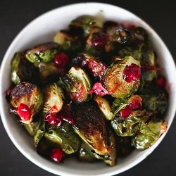 Roasted Brussels Sprouts with Brown Butter