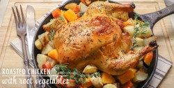 Roasted Chicken with Root Vegetable